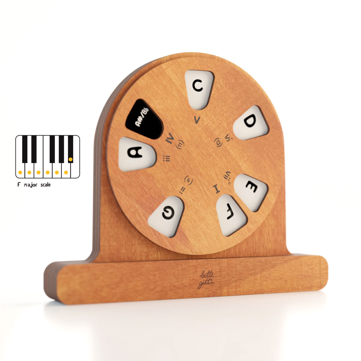 the wooden musical toy