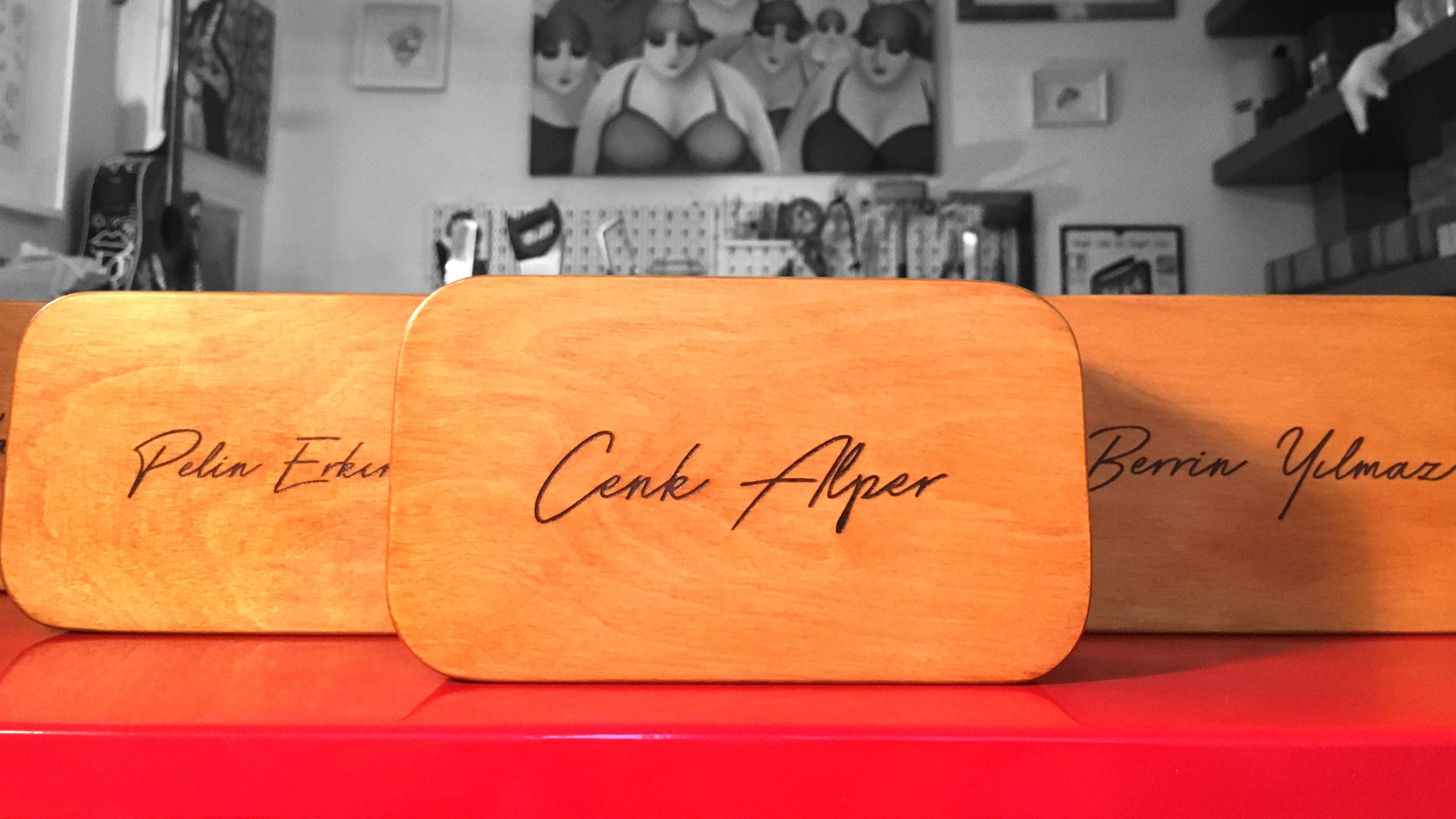 laser engraved wooden speaker