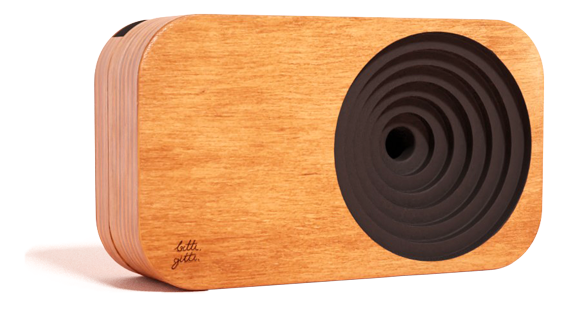 the Wooden Sound System Black Edition