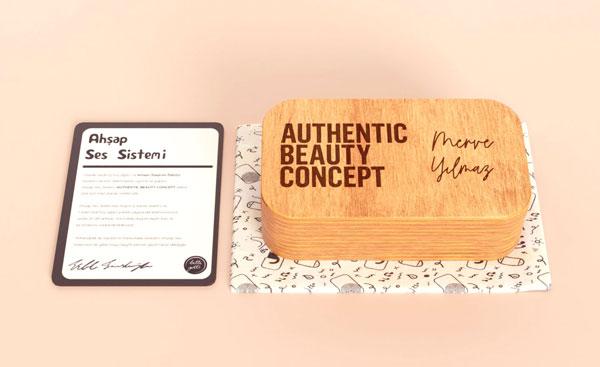 Laser engraved custom wooden design objects