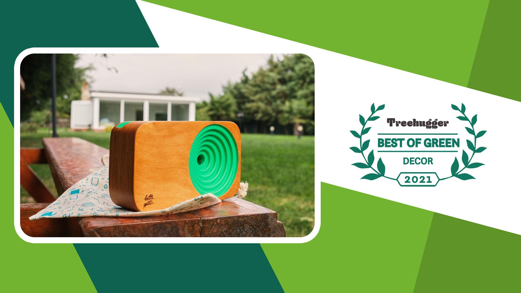 treehugger eco design award the wooden sound system