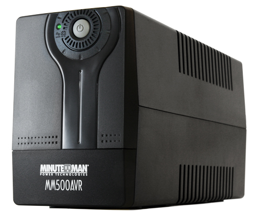 UPS MONO AVR INTERAC-120V/700VA/TORRE/AUTO:3MIN/ 1AÑOGARANTIA INCLUYE BATERIA SOPORTA 2PC