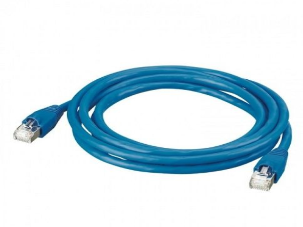 PATCH CORD RJ45 CAT 6 AZUL - 1 mtr LINKEO LEGRAND