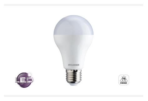Bombilla LED en bulbo: 4.5w - 15w (3000k - 6500k)