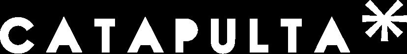 Logo Catapulta en blanco