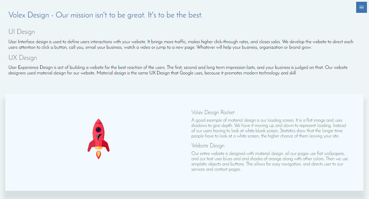 Volex Design Minimalism Web Design