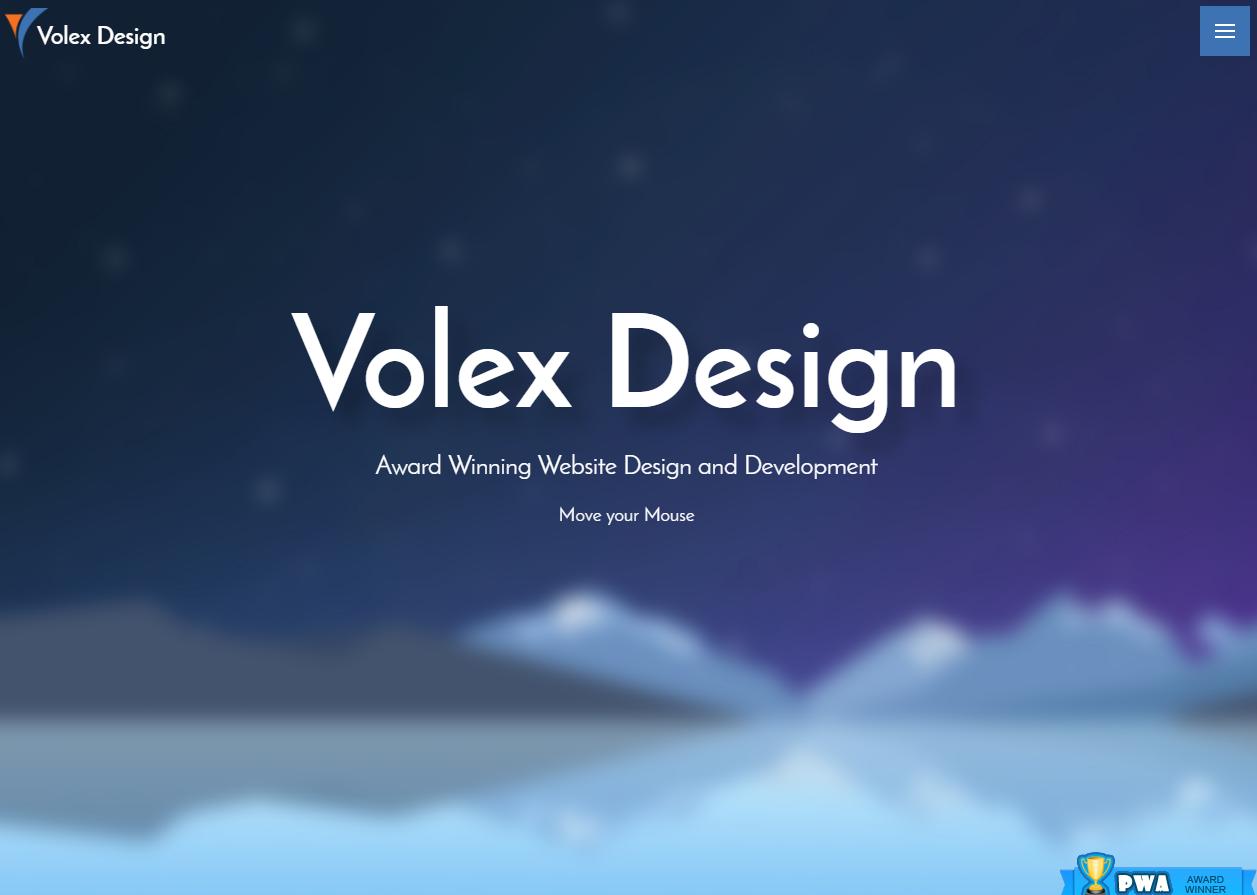 Volex Design wins Popular Website Award!