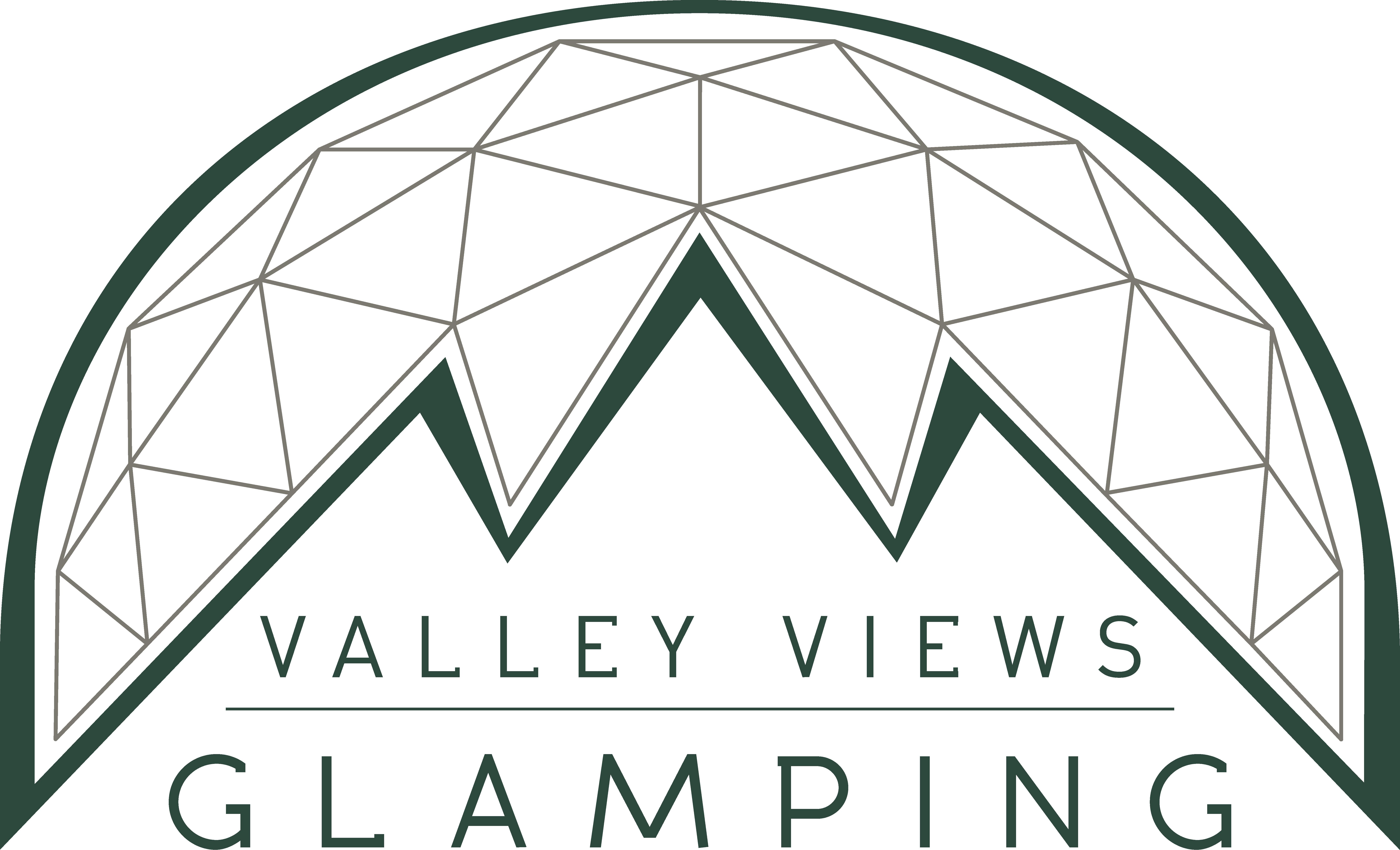 valley views glamping logo