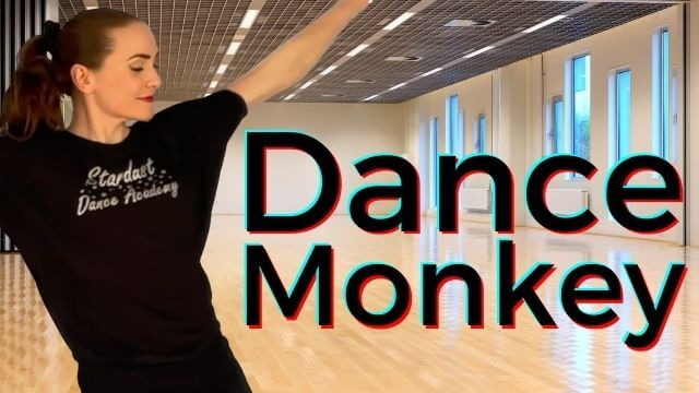 Beginners Jazz Dance Choreography Routine & Tutorial to Dance Monkey by Tones & I.