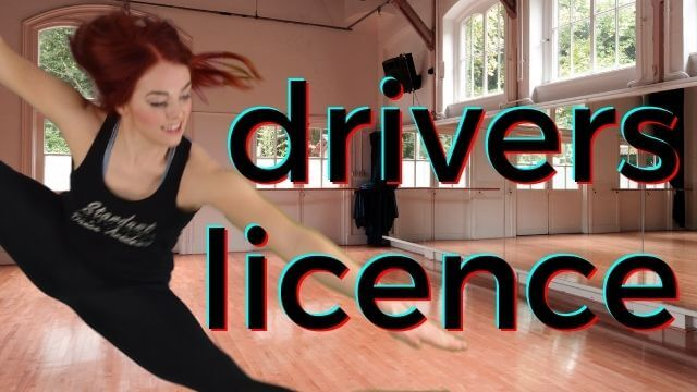 An intermediate piece of Lyrical dance choreography & tutorial to drivers licence by Olivia Rodrigo