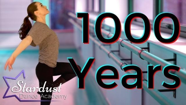 Learn beautiful Lyrical Choreography routine with Tutorial to Christina Perri's 1000 Years song.