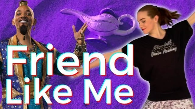 Learn Beginner Jazz Dance Choreography with a tutorial to Will Smith's Aladdin song Friend Like Me.