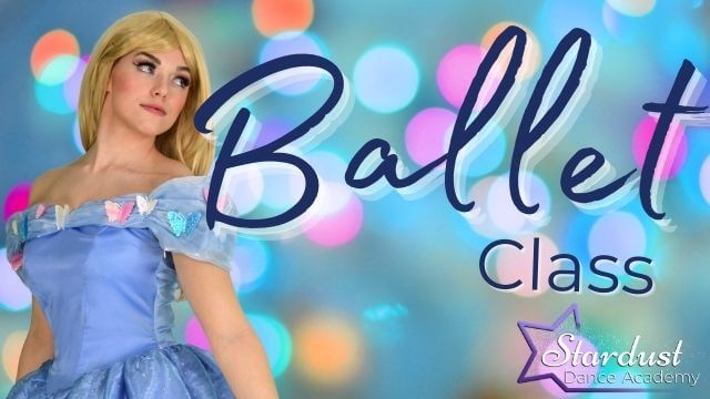 A Children's Ballet Class taught by Miss Hannah & Cinderella! Learn ballet to Disney piano music.