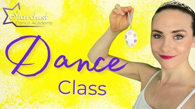 Miss Hannah teaches our youngest dancers in an Easter themed Ballet Dance Class for Toddlers & Kids.