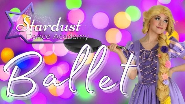 Beginner's Ballet Class with dances taught by Miss Hannah and Rapunzel! Perfect for Tangled fans.