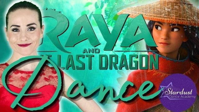 Raya and the Last Dragon inspired Ballet Class for Kids & Beginners with a routine to Lead the Way!
