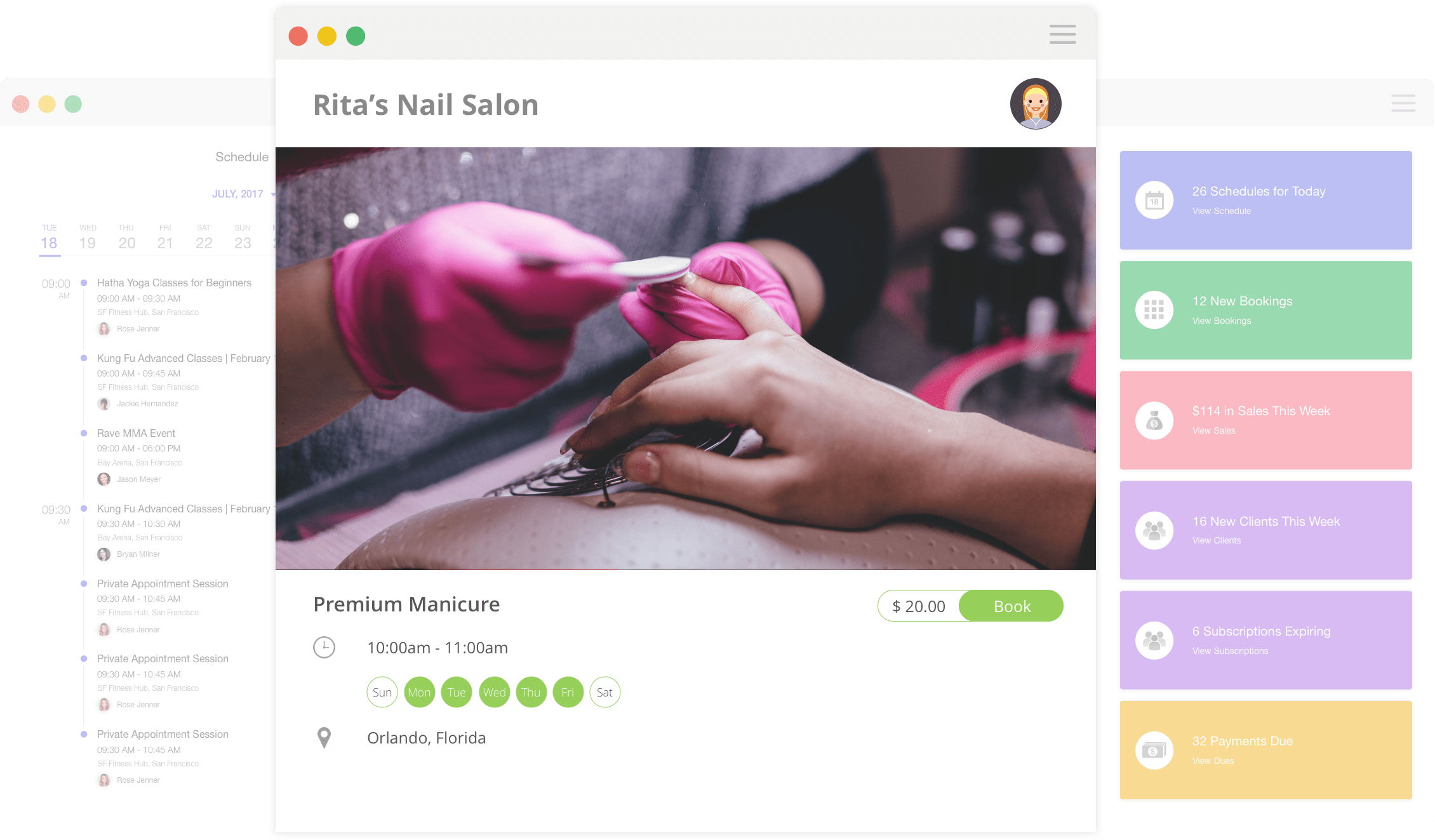 Nail Salon Software - Appointment Booking | Omnify