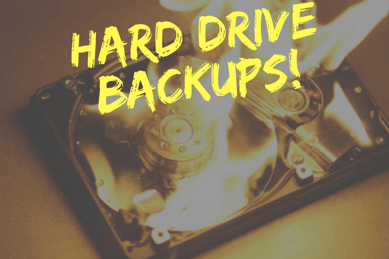 Hard Drive Backups