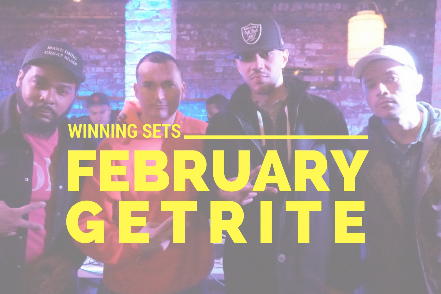 February Winning DJ Sets