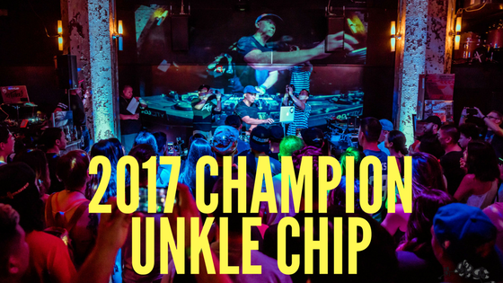 Meet 2017 Ahhyeah Battle Champ : Unkle Chip