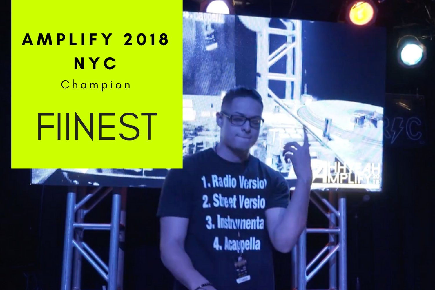 Peavey presents Amplify 2018 NYC Results