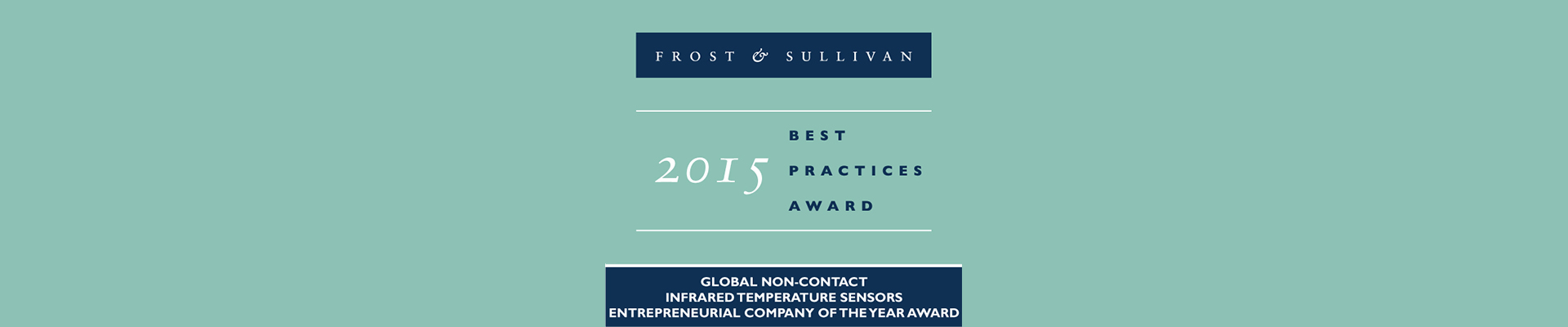 Frost and Sullivan Award