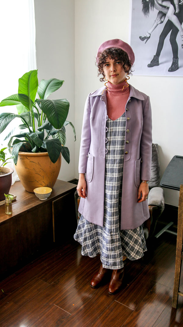 We have a look at Miri Badger's style and ask her some questions about what she is wearing today