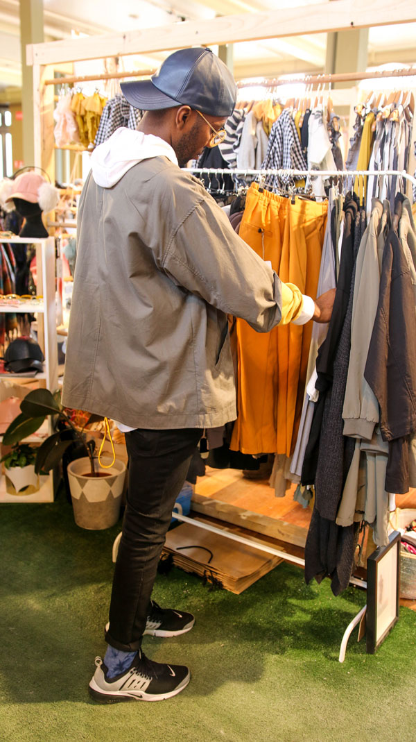 I meet with Keith Chinyanda at Finders Keepers Melbourne and find out what makes his style tick