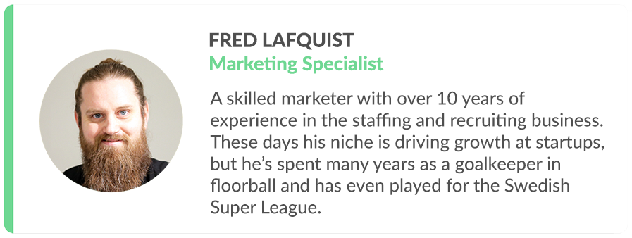 Happo candidate card of Fred