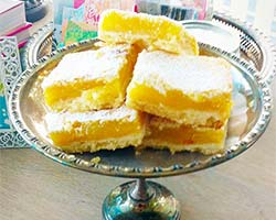 Tweet Lemony-Lemon Squares