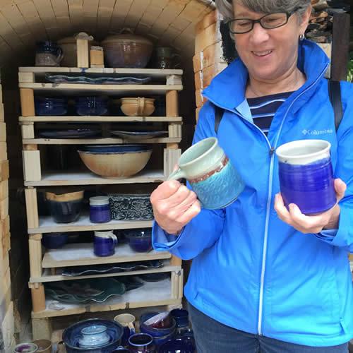 Pottery customer