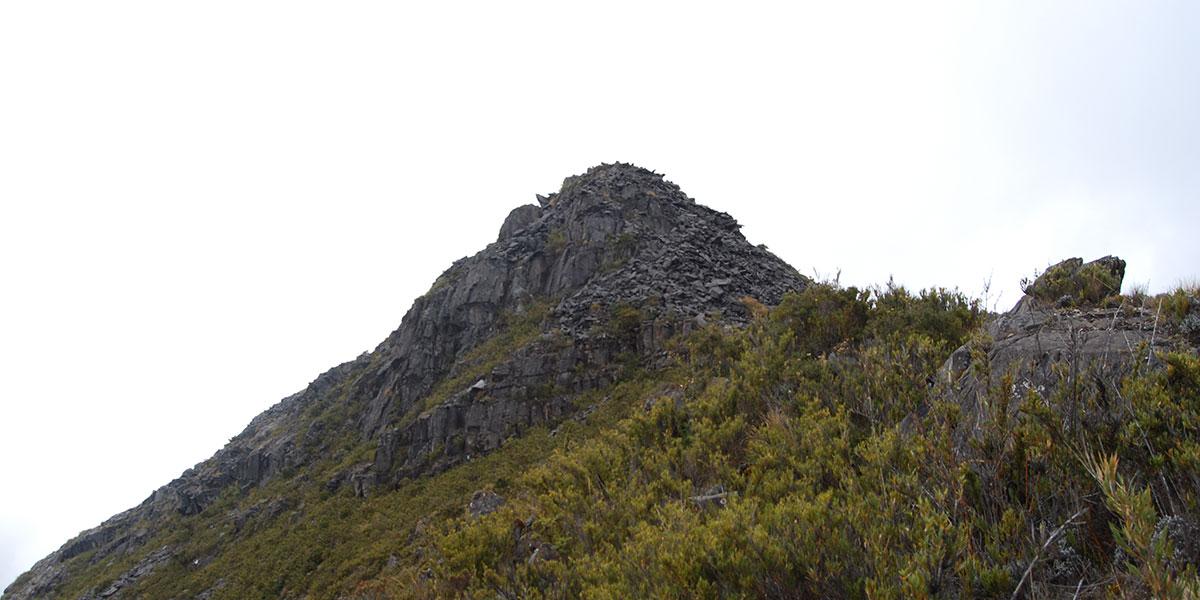 Chirripo peak