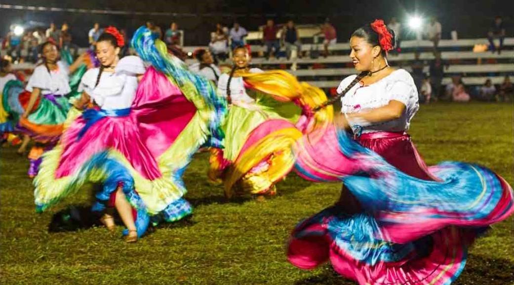 Baile típico guanacasteco