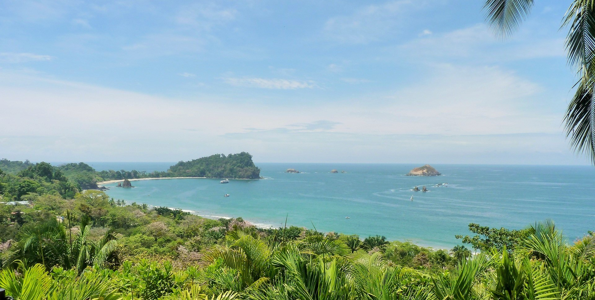 Manuel Antonio panoramic view