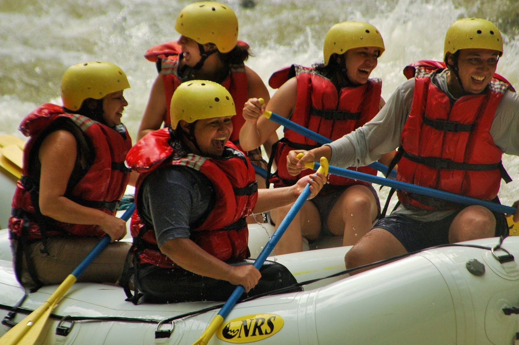 rafting on the Pacuare