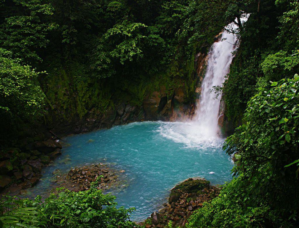 Catarata de Rio Celeste