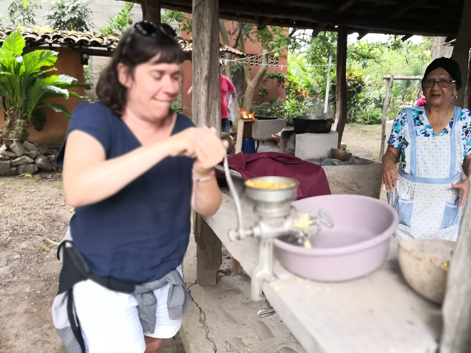 Tortilla making process