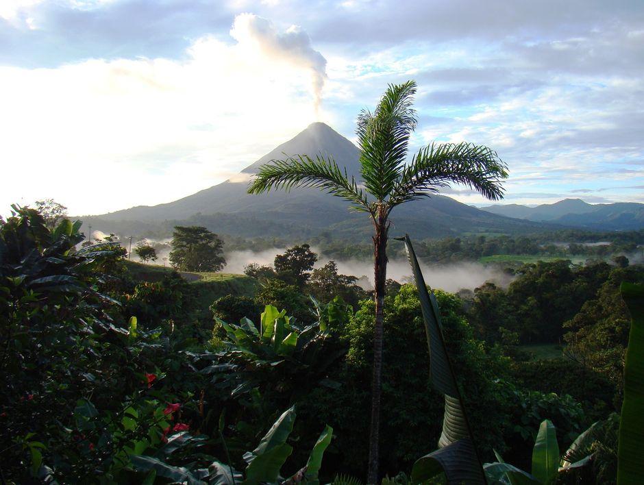 vista panoramica parque nacional volcan arenal