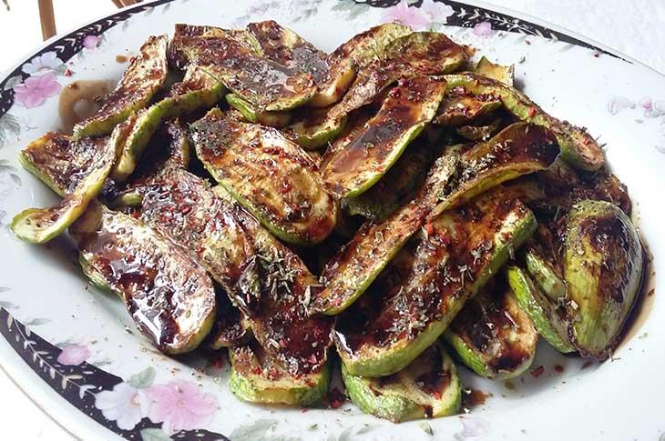 Tangy Zucchini Salad