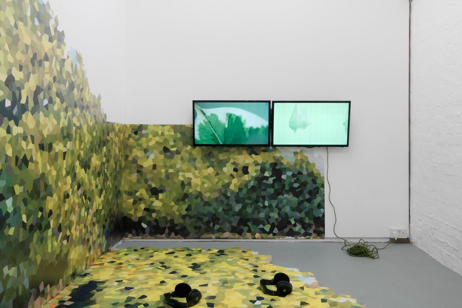 Installation view, Rachel Pimm. Tenderpixel.