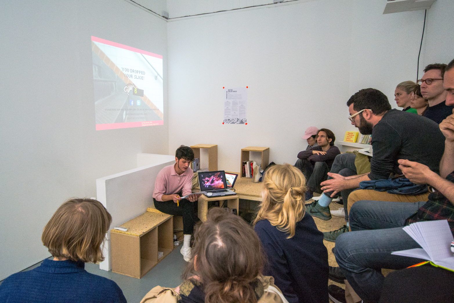 Sabel Gavaldon's talk, 'An Urban Bestiary' at Tenderpixel.