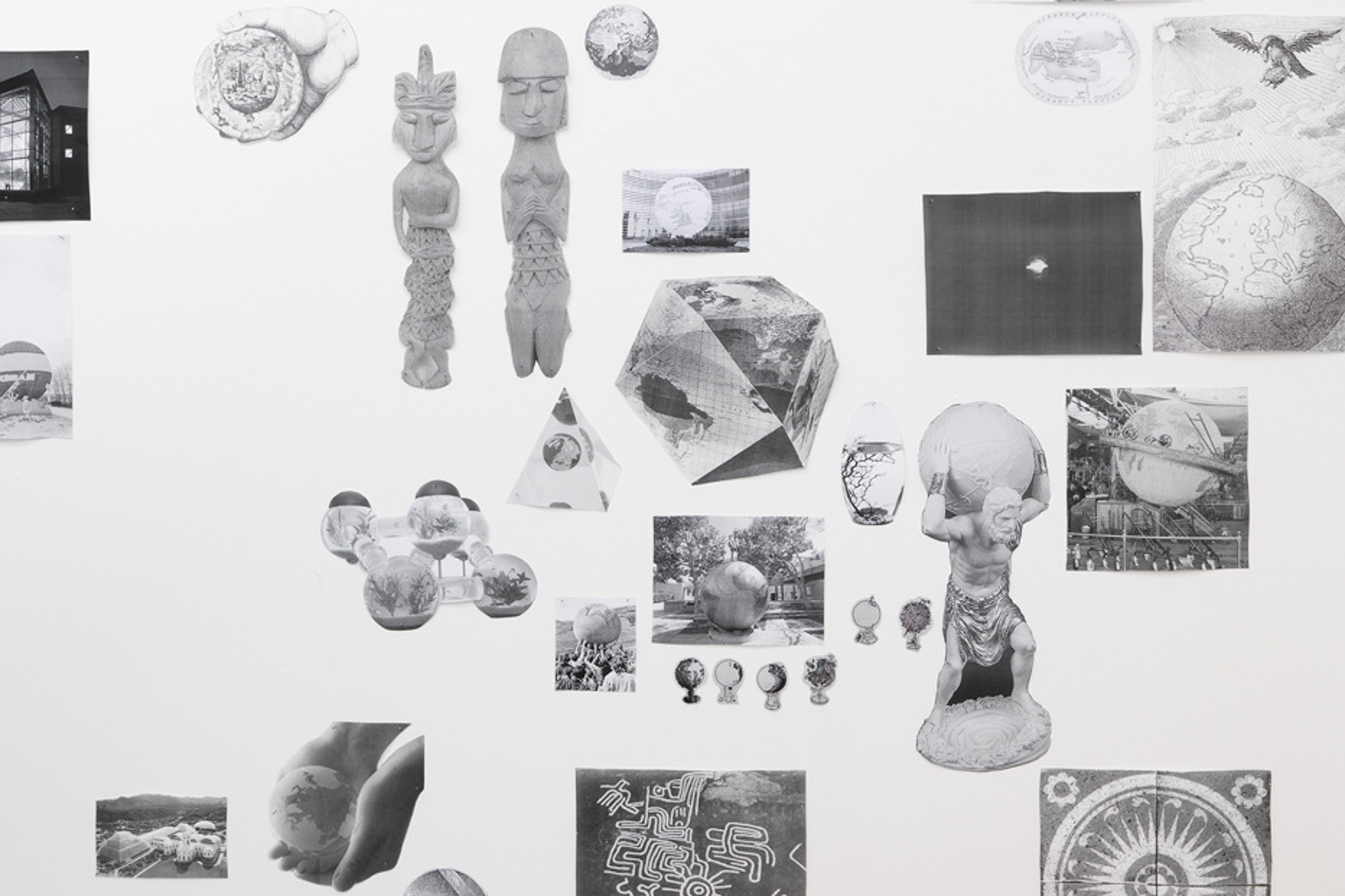 Timothy Ivison and Julia Tcharfas, The Conquest of Gravity as Such. (detail) Tenderpixel.