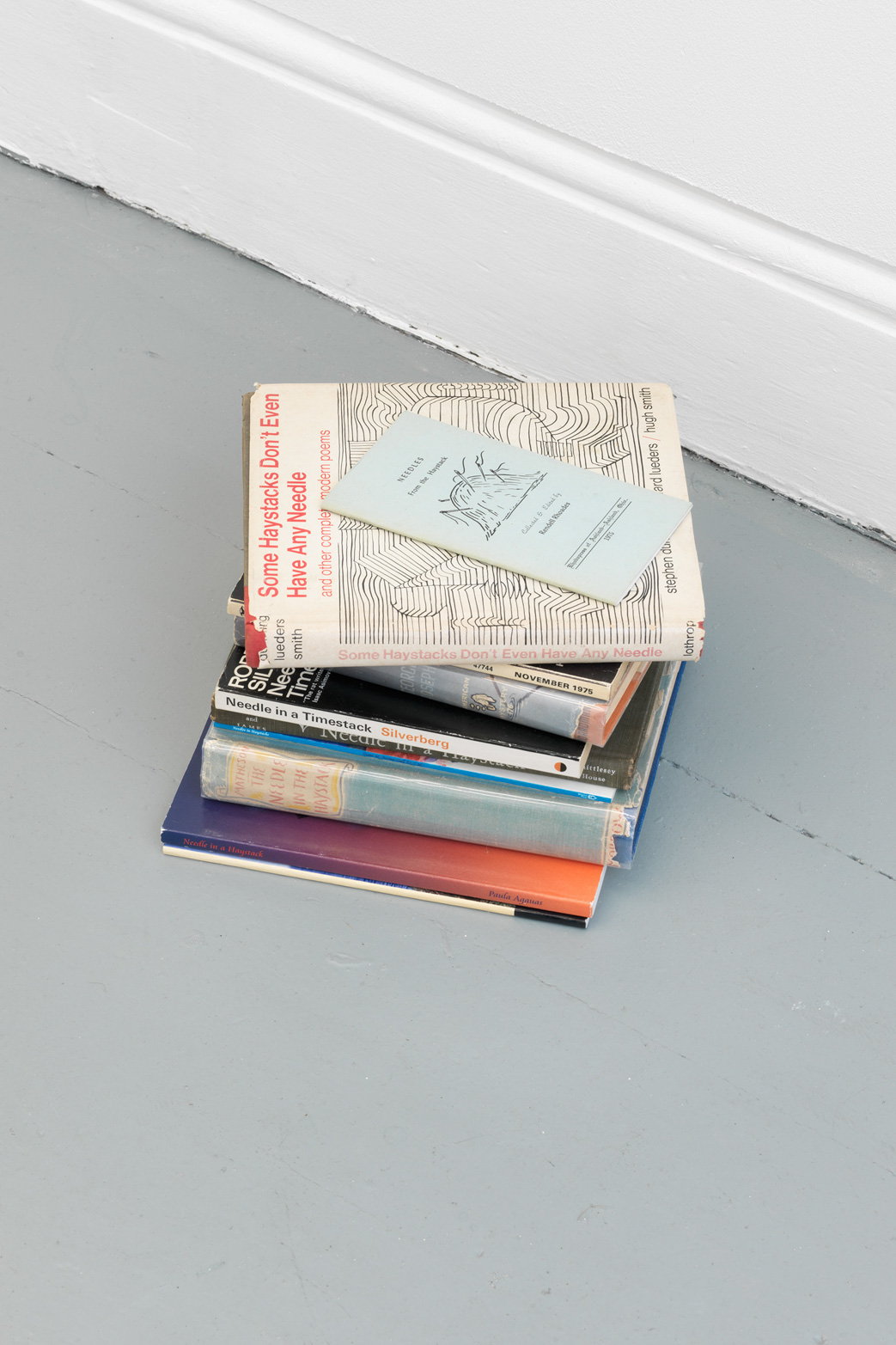 Yann Sérandour  Bookstack, 2005.  Tenderpixel.