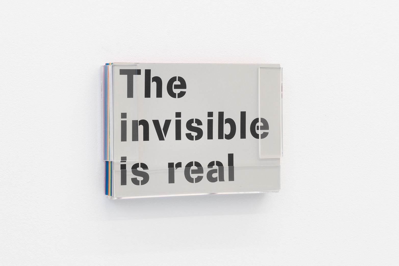Ian Whittlesea , The invisible is real, (Walter De Maria), 2006. Tenderpixel.