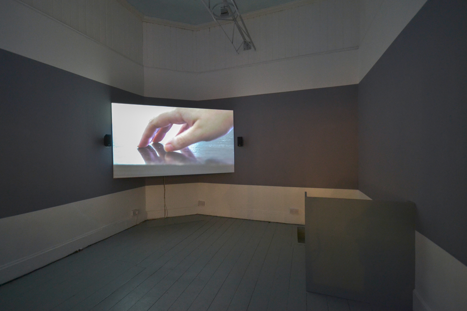 Ilona Sagar, Human Factors, 2014, installation view at Tenderpixel.