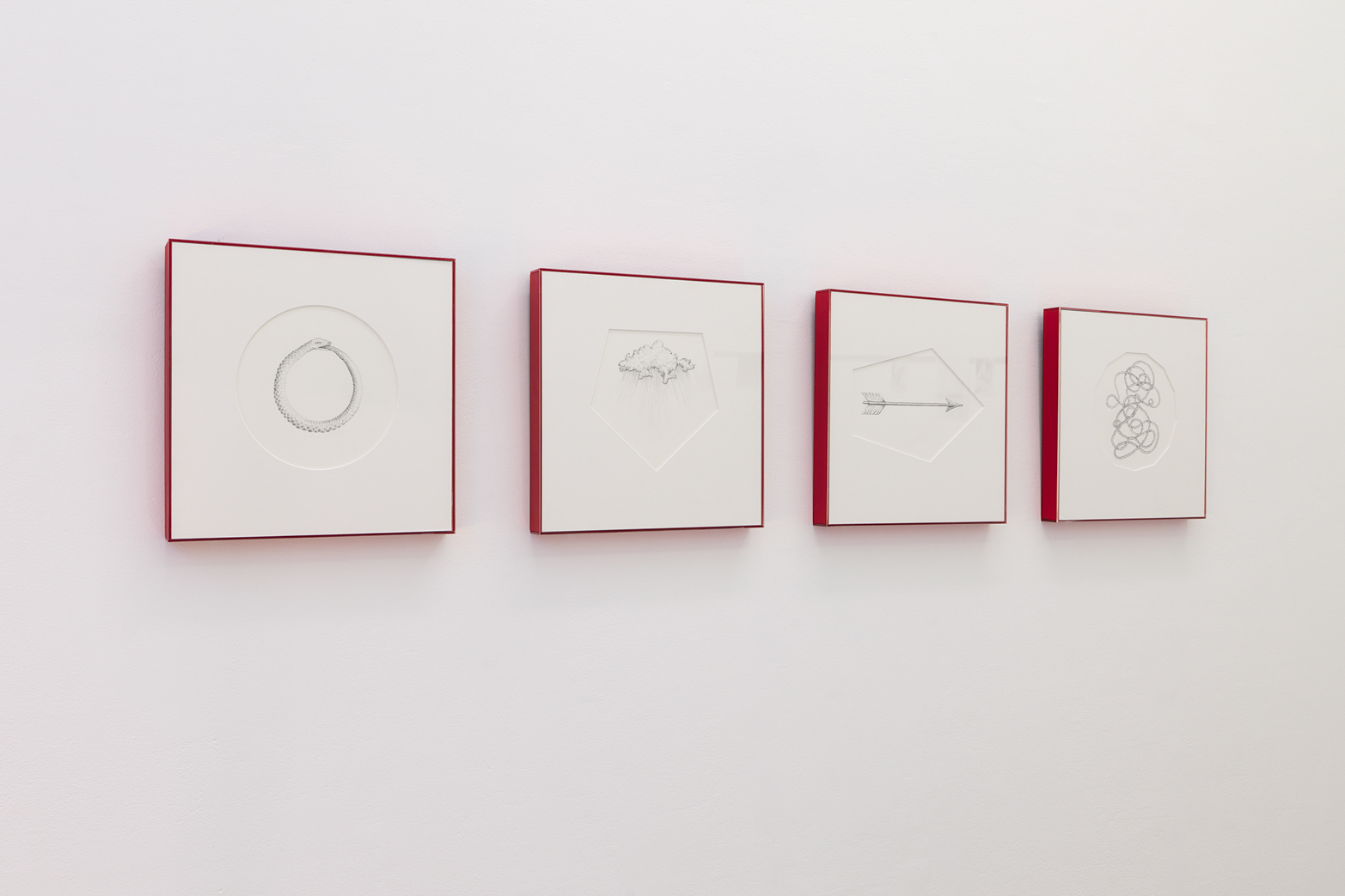 Cathy Haynes, Four Geometries of Time. Tenderpixel Gallery.