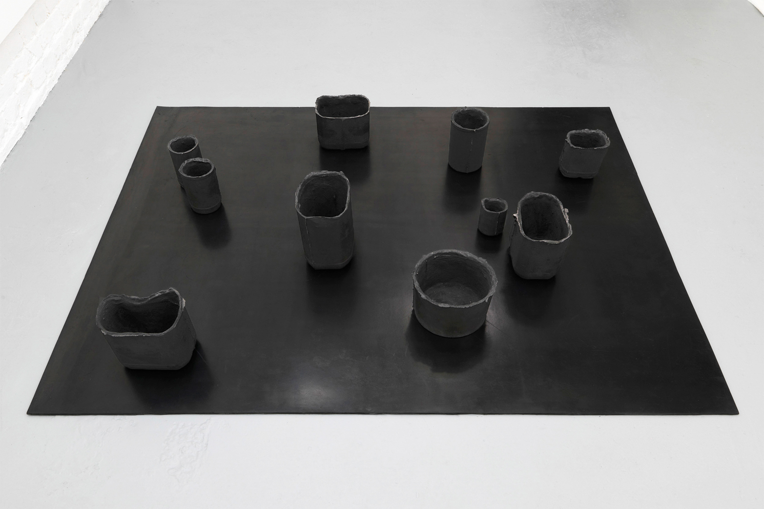 Andrea Zucchini, Untitled (As Above, So Below series), 2014, cast iron, testosterone, vulcanised rubber. Tenderpixel.
