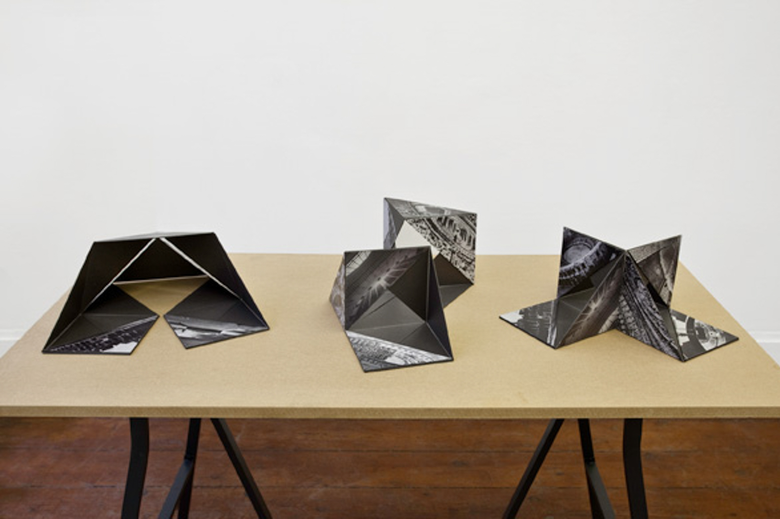Erika Hock. Folding Objects, 2012