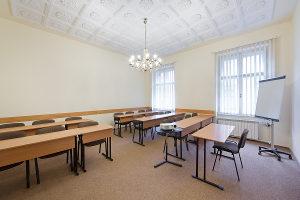 Parmenides conference room