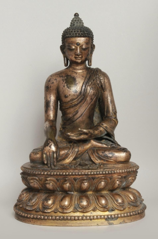 Buddha Shakyamuni. China, Yuan Dynasty